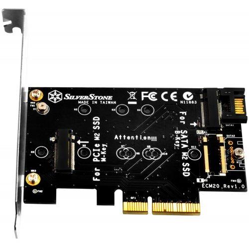 SilverStone ECM20 PCI-E x4 to M.2 + SATA (SST-ECM20)