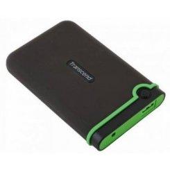 Фото Внешний HDD Transcend StoreJet 25M3 1TB (TS1TSJ25M3) Black/Green