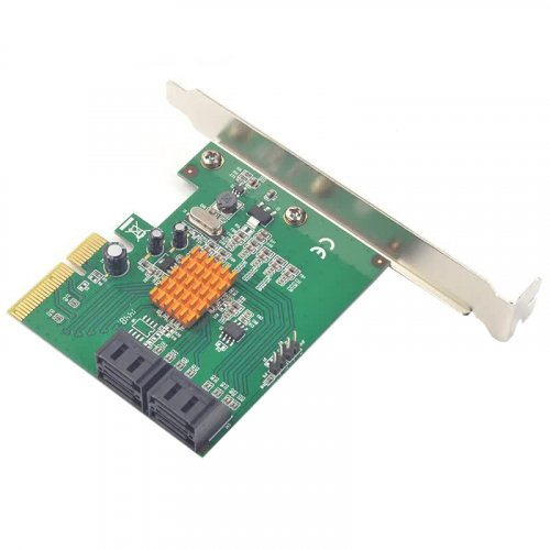 T-Adapter PCI-E x4 to 4 x SATA Marvell 9230