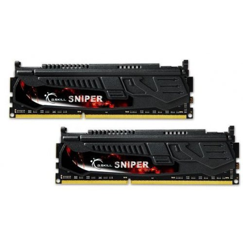 Фото ОЗУ G.Skill DDR3 8GB (2x4GB) 2400MHz (F3-2400C11D-8GSR)