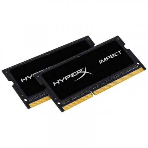 Фото ОЗУ Kingston SODIMM DDR3 8GB (2x4GB) 1600MHz (HX316LS9IBK2/8)