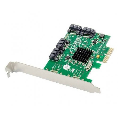 T-Adapter PCI-E x4 to 4 x SATA Marvell 9215