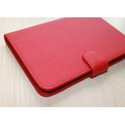 Фото Чехол Обложка Saxon для Barnes&Noble Nook Simple Touch Classic Red