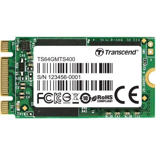 Фото SSD-диск Transcend MTS400 64GB M.2 (TS64GMTS400)