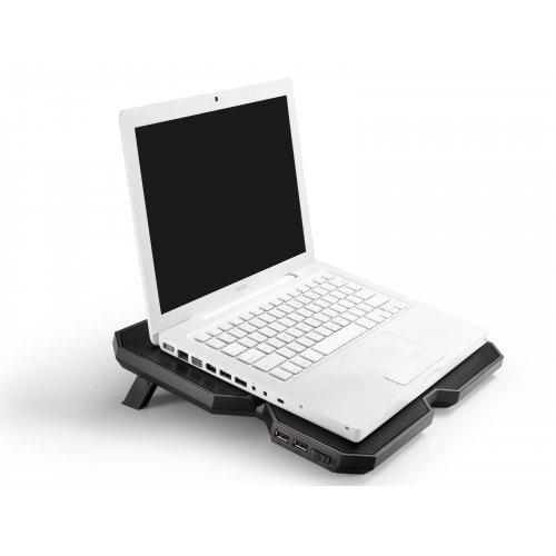 Фото Подставка для ноутбука Deepcool Multi Core X6 Black