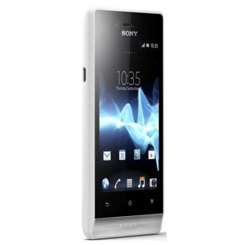 Фото Смартфон Sony Xperia miro ST23i White Silver