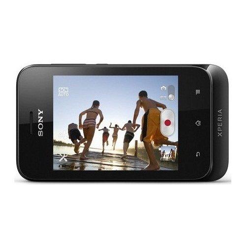 Фото Смартфон Sony Xperia tipo Dual ST21i2 Black