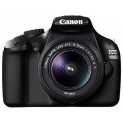 Фото Цифровые фотоаппараты Canon EOS 1100D 18-55 IS II Kit