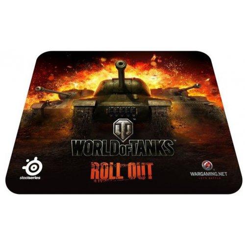 Фото Коврик для мышки SteelSeries QcK World of Tanks Edition (67269)