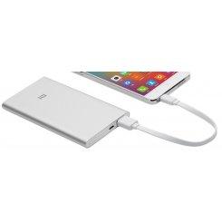 Фото Универсальный аккумулятор Xiaomi Mi Power Bank 5000 mAh (NDY-02-AM) Silver