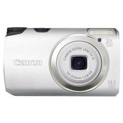 Фото Цифровые фотоаппараты Canon PowerShot A3200 IS Silver