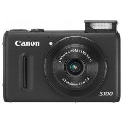 Фото Цифровые фотоаппараты Canon PowerShot S100 Black