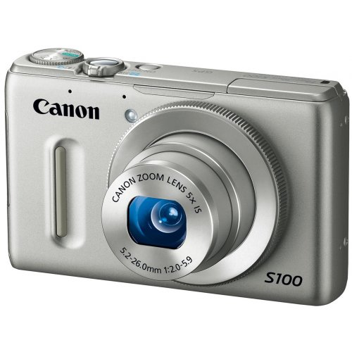 Фото Цифровые фотоаппараты Canon PowerShot S100 Silver