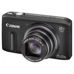Фото Цифровые фотоаппараты Canon PowerShot SX240 HS Black