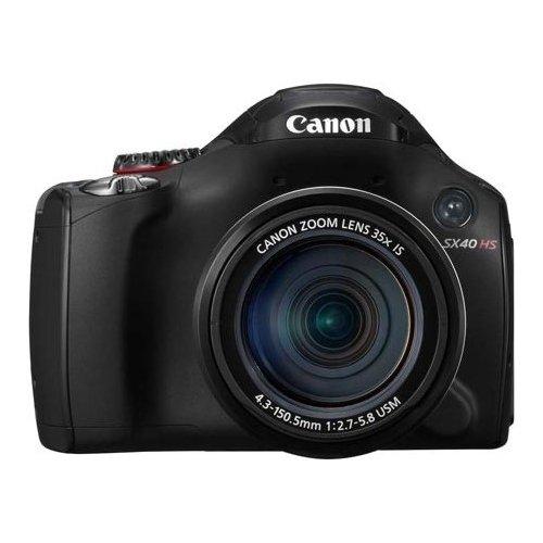 Фото Цифровые фотоаппараты Canon PowerShot SX40 HS Black