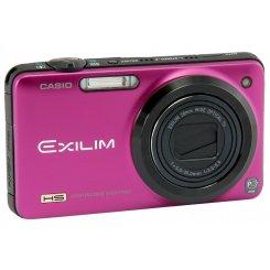 Фото Цифровые фотоаппараты Casio Exilim EX-ZR10 Red