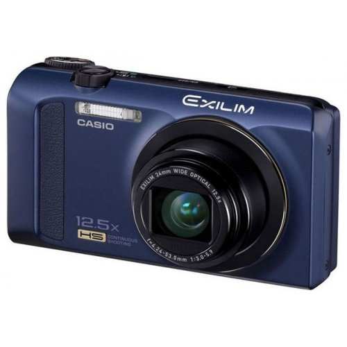 Фото Цифровые фотоаппараты Casio Exilim EX-ZR200 Blue