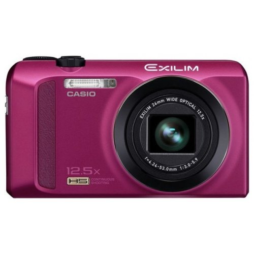 Фото Цифровые фотоаппараты Casio Exilim EX-ZR200 Red