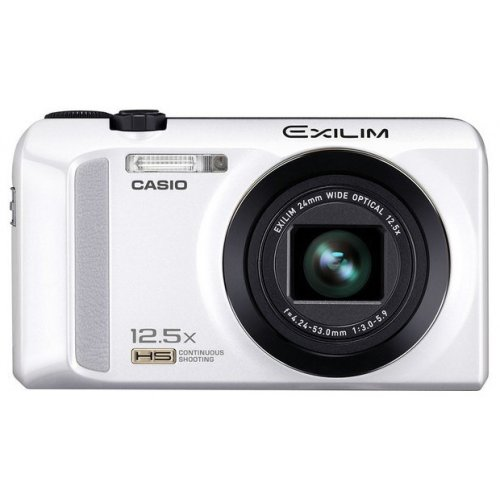 Фото Цифровые фотоаппараты Casio Exilim EX-ZR200 White