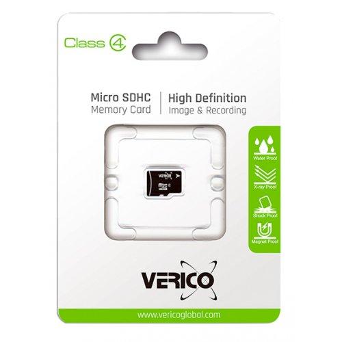Фото Карта памяти Verico microSDHC 32GB Class 4 (без адаптера) (VFE1-32G-V2E)