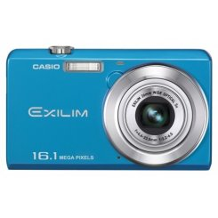 Фото Цифровые фотоаппараты Casio Exilim EX-ZS12 Blue