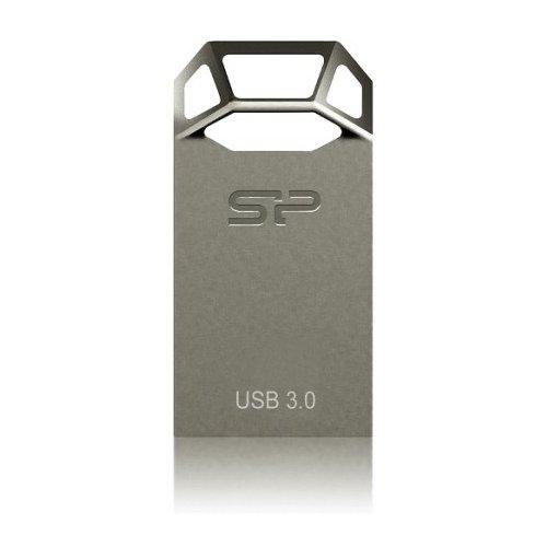 Фото Накопитель Silicon Power Jewel J50 USB 3.0 16GB Titanium (SP016GBUF3J50V1T)