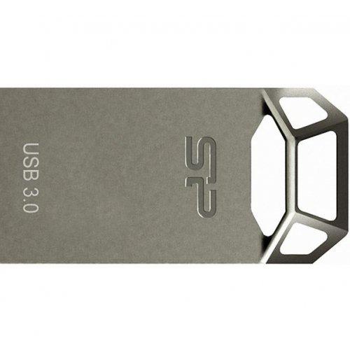 Фото Накопитель Silicon Power Jewel J50 USB 3.0 32GB Titanium (SP032GBUF3J50V1T)