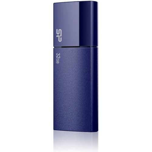 Фото Накопитель Silicon Power Ultima U05 32GB Deep Blue (SP032GBUF2U05V1D)