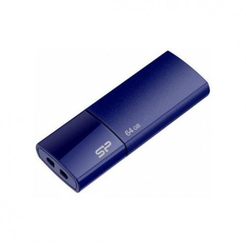 Фото Накопитель Silicon Power Ultima U05 64GB Deep Blue (SP064GBUF2U05V1D)