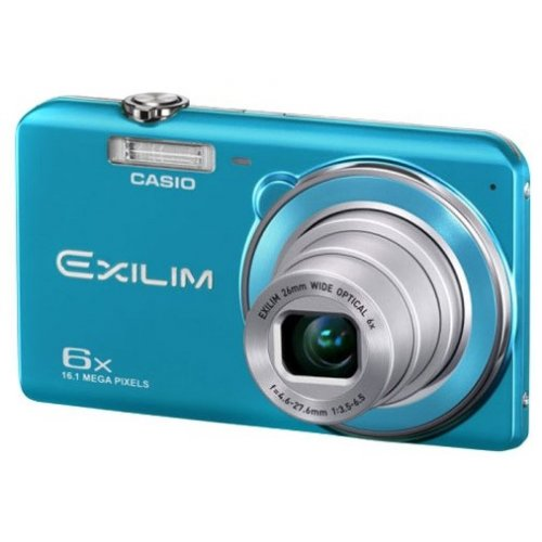 Фото Цифровые фотоаппараты Casio Exilim EX-ZS20 Blue