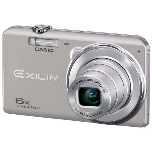Фото Цифровые фотоаппараты Casio Exilim EX-ZS20 Silver