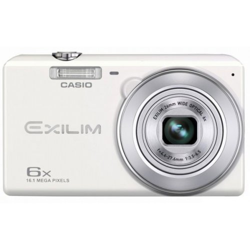Фото Цифровые фотоаппараты Casio Exilim EX-ZS20 White