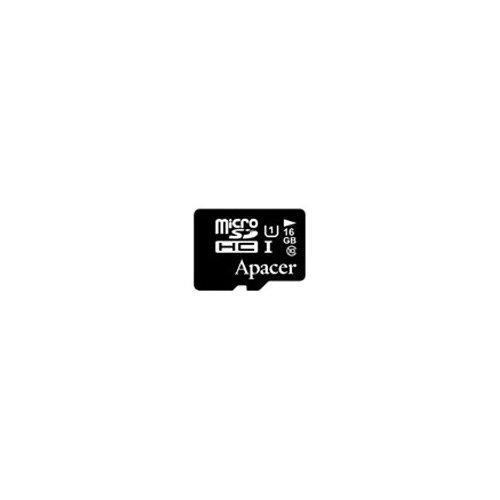 Фото Карта памяти Apacer microSDHC 16GB Class 10 UHS-I (без адаптера)