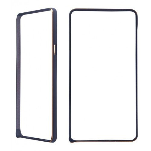 Фото Чехол Чехол Ultra Slim Metal Bumper для Samsung Galaxy A3/A300 Black