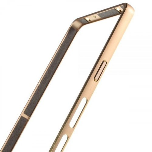 Фото Чехол Чехол Ultra Slim Metal Bumper для Samsung Galaxy A5/A500 Gold
