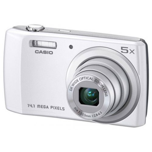 Фото Цифровые фотоаппараты Casio Exilim QV-R200 White
