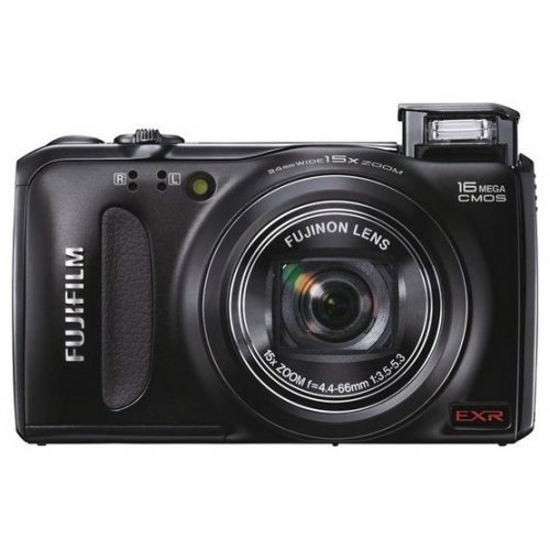 Фото Цифровые фотоаппараты Fujifilm FinePix F500EXR Black