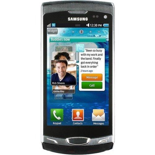 Фото Мобильный телефон Samsung S8530 Wave II Ebony Grey