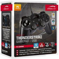 Фото Игровые манипуляторы Speedlink Thunderstrike Gamepad (SL-6515-BK)
