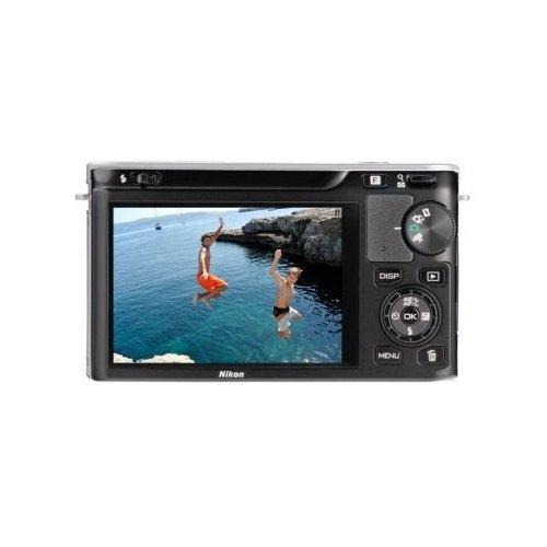 Фото Цифровые фотоаппараты Nikon 1 J1 10-30 VR Kit Silver