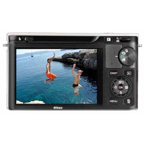 Фото Цифровые фотоаппараты Nikon 1 J1 10-30 VR Kit White