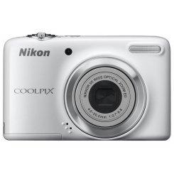 Фото Цифровые фотоаппараты Nikon Coolpix L25 White
