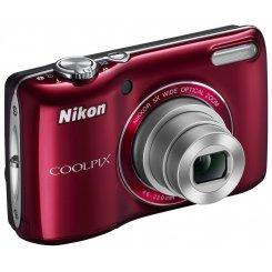 Фото Цифровые фотоаппараты Nikon Coolpix L26 Red