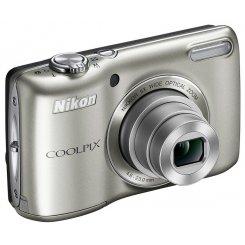 Фото Цифровые фотоаппараты Nikon Coolpix L26 Silver