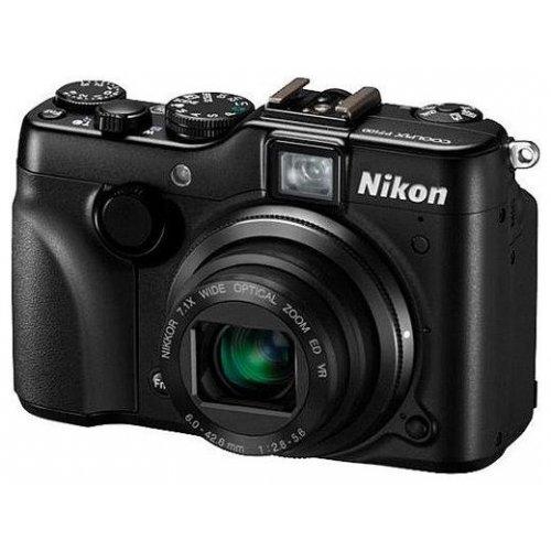 Фото Цифровые фотоаппараты Nikon Coolpix P7100 Black