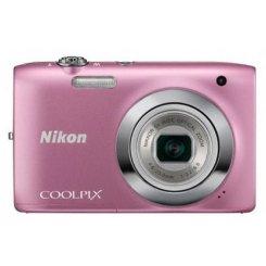 Фото Цифровые фотоаппараты Nikon Coolpix S2600 Pink