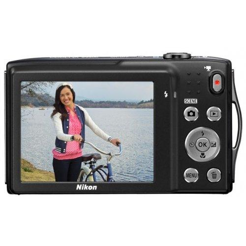 Фото Цифровые фотоаппараты Nikon Coolpix S3300 Black