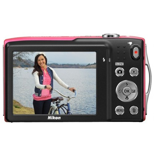 Фото Цифровые фотоаппараты Nikon Coolpix S3300 Red