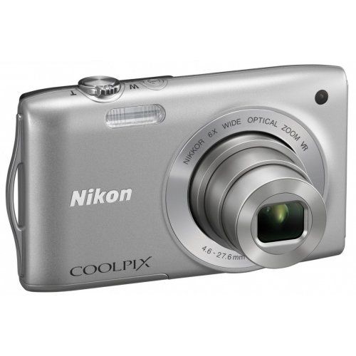 Фото Цифровые фотоаппараты Nikon Coolpix S3300 Silver