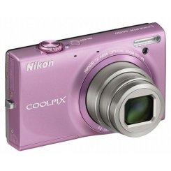 Фото Цифровые фотоаппараты Nikon Coolpix S6150 Pink